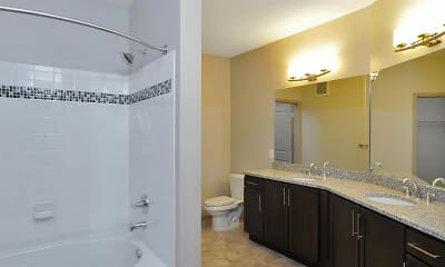 Bathroom, AMLI North Point, 2