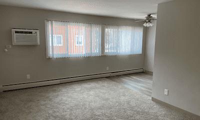 Living Room, Hiawatha Apartments, 2