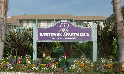 Community Signage, West Park Apartments, 2