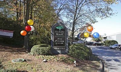 Community Signage, Hickory Knoll, 1