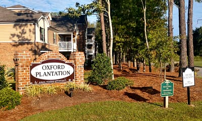 Community Signage, Oxford Plantation, 2