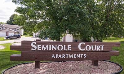 Community Signage, Seminole Court, 2