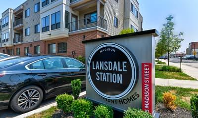 Community Signage, Madison Lansdale Station, 2