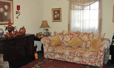 Living Room, Rosewood Manor Townhomes, 2