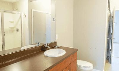 Bathroom, Seminary Square Lofts, 2