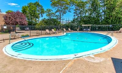 Pool, Sutton Place Apartments, 1