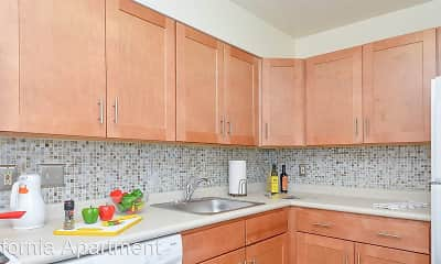 Kitchen, California Apartments, 1