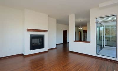 Living Room, Mequon Town Center Apartments, 1