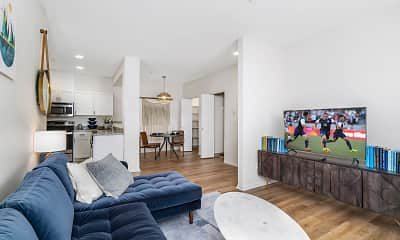 Living Room, Silverdale Ridge, 1