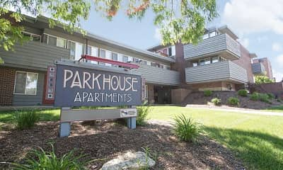 Community Signage, Park House Apartments, 2