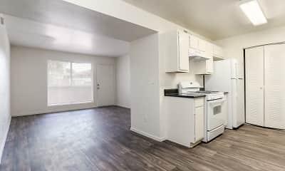 Kitchen, Lake Tonopah Senior Apartments, 1