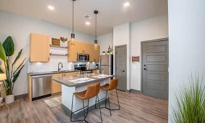 Kitchen, The Maddie Apartments, 0