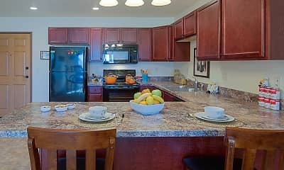 Kitchen, Country View Apartments, 2