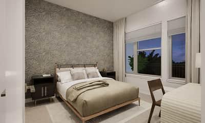 Bedroom, Faraday Park, 1