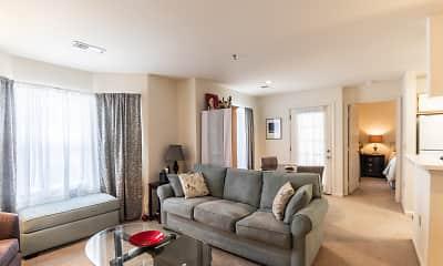 Living Room, Park Crest Terrace Apartments, 0