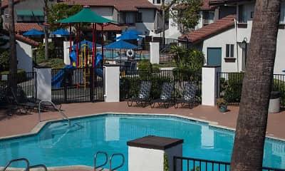 Pool, Portofino Townhomes, 0