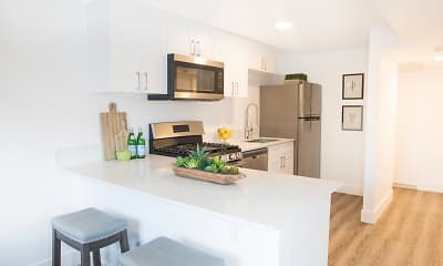 Kitchen, Equinox on Prince, 1