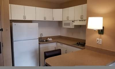 Kitchen, Furnished Studio - Milwaukee - Brookfield, 1