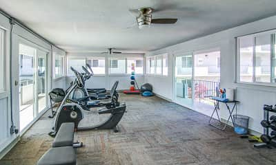 Fitness Weight Room, The View Point Loma, 2