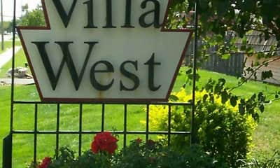 Community Signage, Villa West, 2