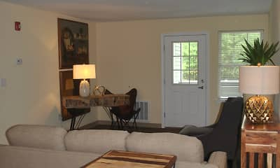Living Room, Village At Clark Brook Apartments, 2