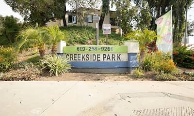 Community Signage, Creekside Park, 0