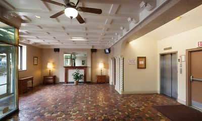 Foyer, Entryway, Coronado Apartments, 1