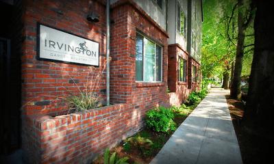 Community Signage, Irvington Garden Apartments, 0