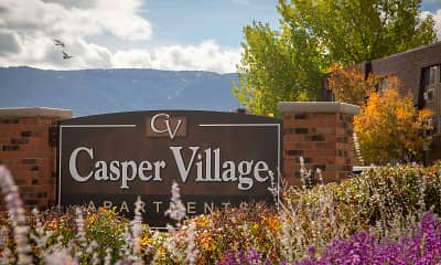 Community Signage, Casper Village, 0