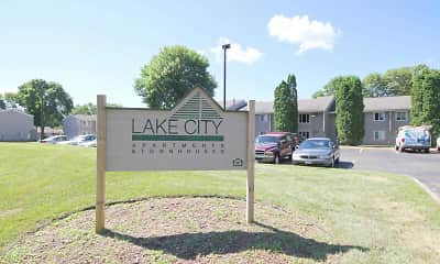Community Signage, Lake City Apartments, 2