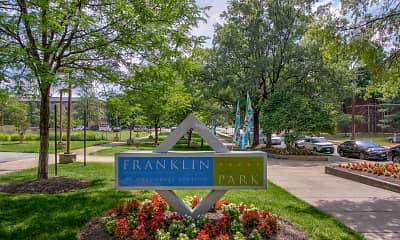Community Signage, Franklin Park at Greenbelt Station, 2