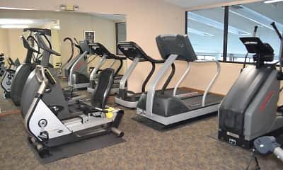 Fitness Weight Room, Poplar Bridge, 2