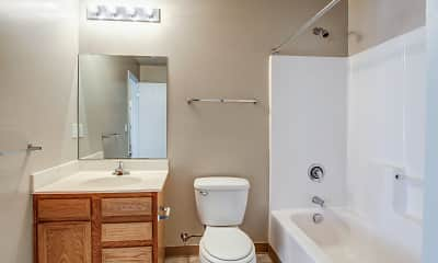 Bathroom, Sutton Crossings Apartments, 2