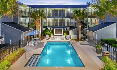 Pool, Brookwood Club Apartments, 0