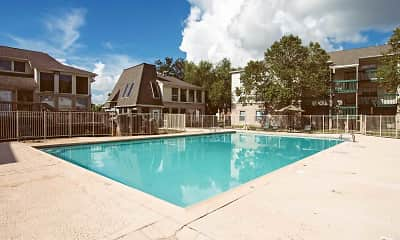 Pool, Willowbrook Apartments, 1