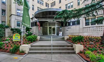 Building, 4801 Connecticut Avenue Apartments, 0