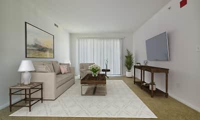 Living Room, Thornridge Apartments, 1