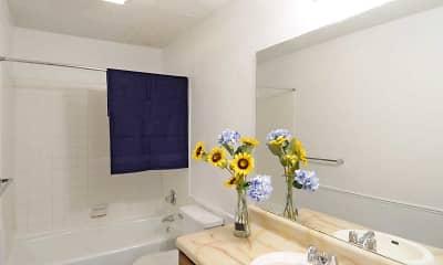 Bathroom, Sandpiper Apartments, 2