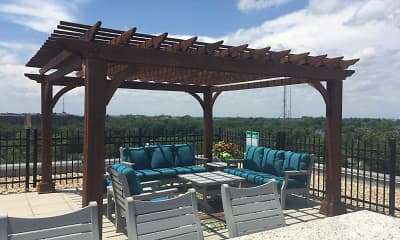 Patio / Deck, The Lencshire House, 1