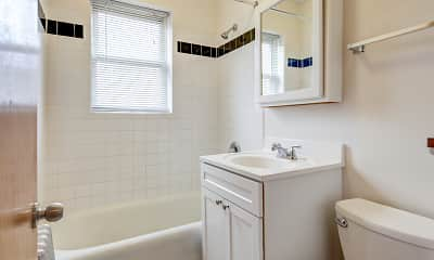 Bathroom, 6408 N Glenwood Ave, 2