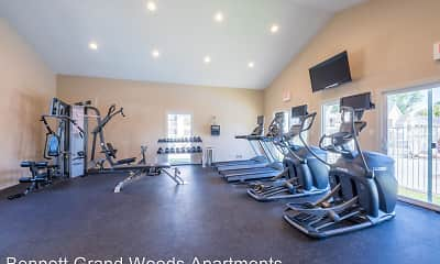 Fitness Weight Room, Bennett Grand Woods, 0