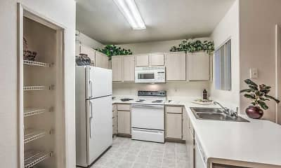 Kitchen, Avion at Sunrise Mountain, 1