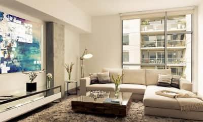 Living Room, 1600 VINE, 2