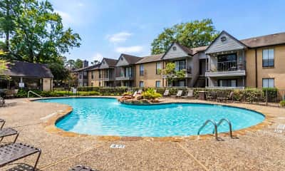 Pool, Elm Creek Apartments, 1