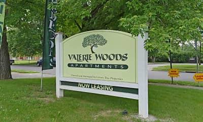 Community Signage, Valerie Woods, 2