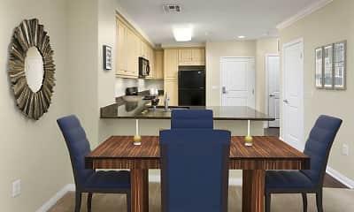 Dining Room, Avalon Encino, 1