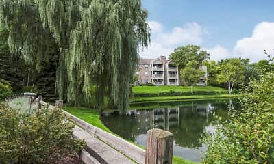 Lake, White Oaks Premier Apartments, 1