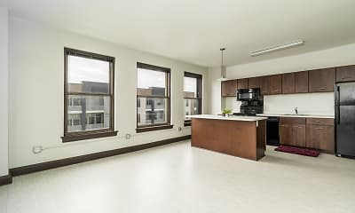 Kitchen, The Randolph Apartments, 1