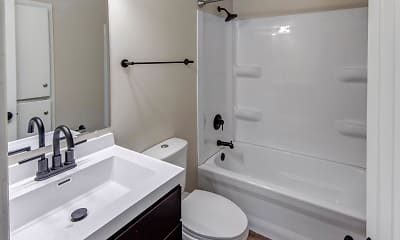 Bathroom, Columbus Crossing Townhomes, 2