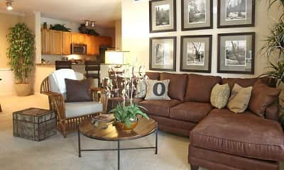 Living Room, The Crossings At Cottage Hill, 2